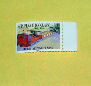 Togo - 1264, MNH - Train. SCV - $0.55