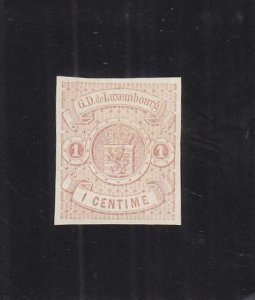 Luxembourg: SC #4, MH, No Gum (34729)