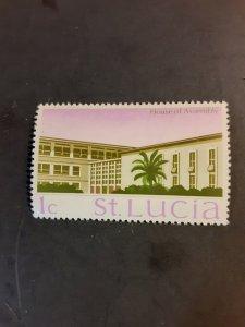 *St. Lucia #261                   MH