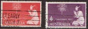 Australia # 306 - 307 Used