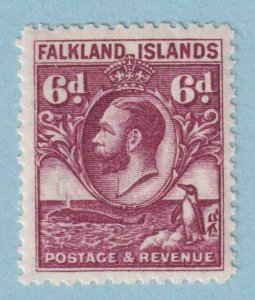 FALKLAND ISLANDS SG 121a LINE PERF MINT LIGHT HINGED OG * NO FAULTS EXTRA FINE !