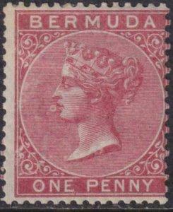 Bermuda 1865-1874 SC 1 MLH