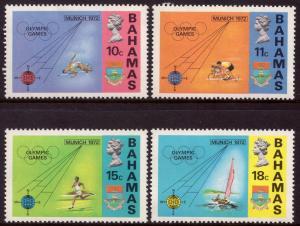 Bahamas MNH 335-8 Munich Olympics 1972
