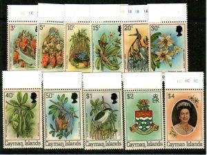 Cayman Islands Scott 452-62 Mint NH (Catalog Value $21.45)