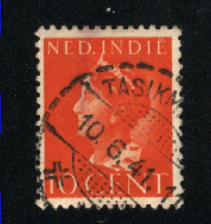 Netherlands-Indies #234 used VF 1941 PD