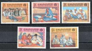 1984 - Libya -The 22th International Trade Fair, Tripoli- Costumes- Set 5v.MNH**