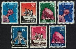 Haiti Penguins Birds Space Submarine International Geophysical year 7v