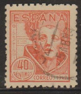 Spain Sc#722 Used