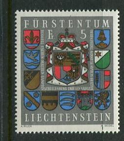 Liechtenstein #533 MNH