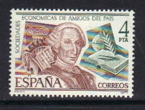 Spain 1977  MNH  King Charles III Economic Society complete