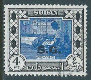 Sudan, Sc #O54, 4pi Used