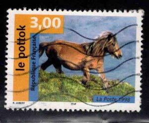 FRANCE Scott 2673 Used Horse stamp