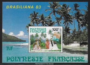 French Polynesia Scott C200a Mint never hinged.