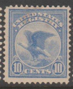 U.S. Scott #F1 Registration Stamp - Mint Single - IND