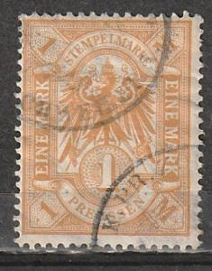 Germany Prussia Used Revenue 1 mark