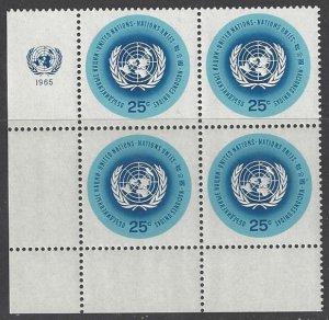 United Nations 149 Third Printing MNH MI4  LL