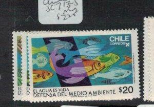 Chile SC 713-5 MNH (2eek)