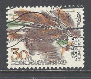 Czechoslovakia Sc # 2219 used (DDT)
