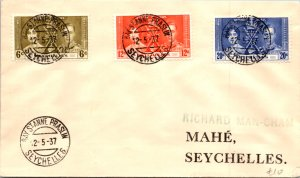 Seychelles, Worldwide First Day Cover, Royalty