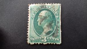 United States George Washington 3 cents Used
