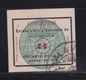 Mexico 337 U Numeral