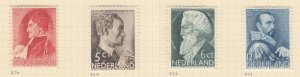 NETHERLANDS, 1935 Social Relief Fund, set of 4, lhm.