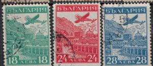 Bulgaria Used C12-C14 Stamp Collection $95.00 Set