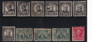 US STAMP 20TH USED STAMPS COLLECTION LOT #R2