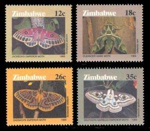 Zimbabwe 1986 Scott #529-532 Mint Never Hinged