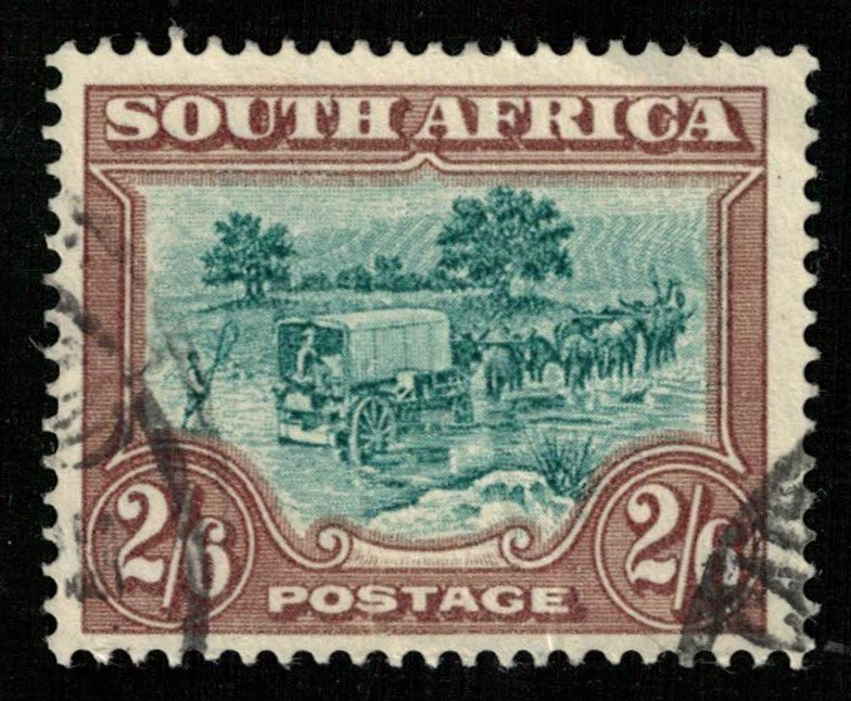 South Africa, 2/6D, 1927, Local Motives (T-6175)