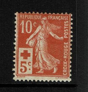 France SC# B2, Mint Hinged, Hinge Remnant - S1619