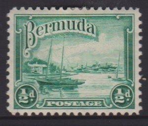 Bermuda Sc#105 MH