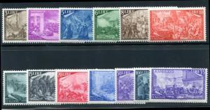 Italy 495-506, E26 Mint NH (MNH) Centenary