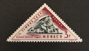 Monaco 1953-54 #J50, MH