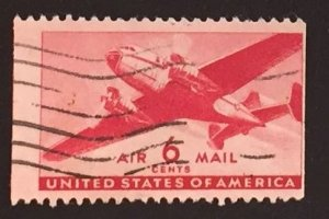 US #C25 Used F/VF - Airmail