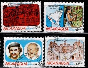 Nicaragua 1983 SC# 1225-1228 (1)