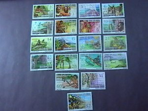 PAPUA/NEW GUINEA # 369-388-MINT NEVER/HINGED-COMPLETE SET-1973-74