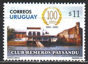 Uruguay. 2001. 2585. Rowing Sports Club. MNH.