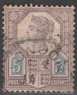 Great Britain #118 F-VF Used CV $12.50  (A2996)