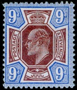 SG307 SPEC M41(3), 9d dull reddish purple & blue, M MINT. Cat £60.