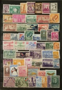 DOMINICAN REPUBLIC Stamp Lot Used T7997