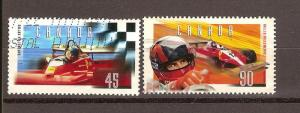 CANADIAN SET ON GILLES VILLENEUVE USED STAMPS  LOT#76
