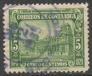 COSTA RICA 155 VFU X867-3