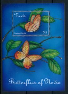 [98802] Nevis 2001 Insects Butterflies Souvenir Sheet MNH