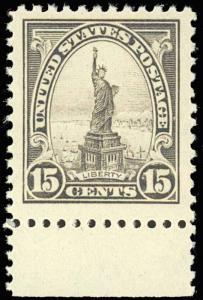 #566 MINT 15¢  XF OG NH -- HUGE MARGINS -- BT31