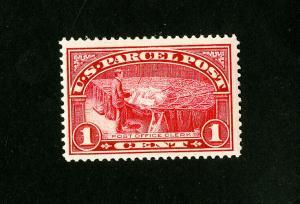 US Stamps # Q1 XF Mint OG NH