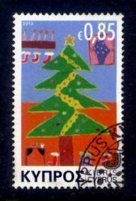 Cyprus Sc# 1198 U Christmas 2013