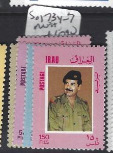 [SOLD] IRAQ (P3012B)  SG  1734-7     MNH