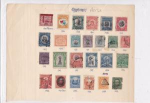 Peru Stamps Ref 15067