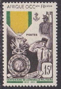 French West Africa Sc #57 Mint Hinged; Mi #62
